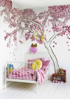 barnrum väggmålning