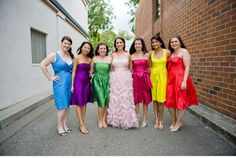 Favors N Bridal: 5 Wedding Trends of Summer: Bright Colors:)
