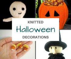Halloween Home Decor, Halloween House, Spirit Halloween, Halloween Diy, Vintage Halloween, Halloween Knitting Patterns, Knitting Ideas, Halloween Decorations Clearance, Halloween Horror Nights