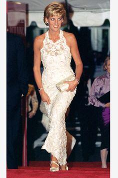 Princess Diana's style through the years via Elle