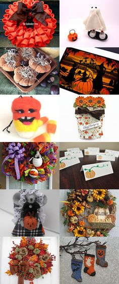 Decorating for the Fall by Emilee Reynolds on Etsy--Pinned with TreasuryPin.com