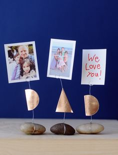 Creative DIY Father's Day gifts that kids can help make: DIY Father's Day Photo Holders by Project Kid Diy Gifts For Dad, Diy Father's Day Gifts, Father's Day Diy, Cool Gifts, Homemade Gifts, Dad Crafts, Diy Crafts For Kids, Projects For Kids, Craft Ideas