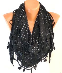 Black fringed Scarf, Shawl, Black Wedding Shawl, triangle cut, Scarf Bridesmaids Gift, Bridal Accessories,Gifts For Her, For Mothers Day - pinned by pin4etsy.com