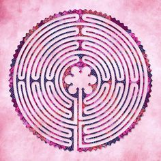 Labyrinth Art - An eleven circuit Chartres Style labyrinth