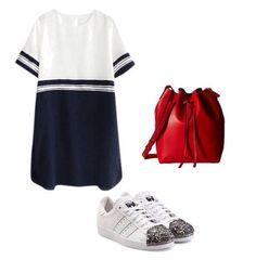 Adora looks confortáveis!!! Vestido e tênis não podem faltar em seu guarda roupa, um combinação perfeita e super atual. Escolha um bolsa estilosa pra deixar o look ainda mais moderninho!!! #dicaslo #loconsultoriademoda #estilo #style #tenisadidas #moda #navy