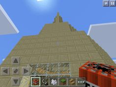 My tall tower that I'm about to blow up