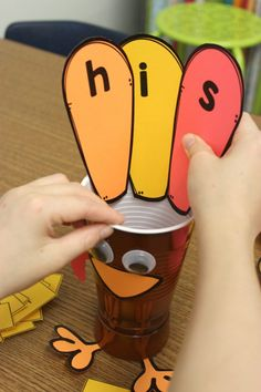 #Thanksgiving #SightWord Activity by A Differentiated Kindergarten