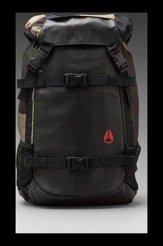 Nixon Landlock Backpack in Woodland Camo | REVOLVE