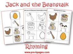 Jack and the Beanstalk unit $4.00 - looks cute with several ideas, eg. sequencing, rhyming, etc.