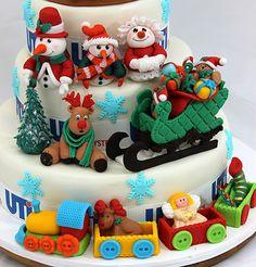 viorica's cakes: Christmas Party UTI Systems