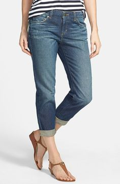 More extra cropped BF jeans to try for Summer. My version of shorts.