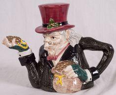 Fitz+and+Floyd+Teapots   Fitz & Floyd Ebenezer Scrooge 2pc Teapot