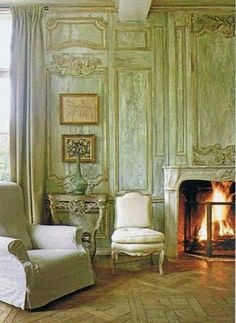Having a winter wedding? A fireplace with a roaring fire will warm the coldest of toes.