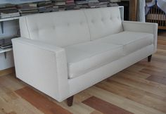Skyline Green Dreams™ Button Tufted Sofa From Our Line Of Natural And  Organic Upholstered