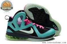 Nike Lebron 9 Black Varsity Red 469764 003 | Kaitlyn Badal | Pinterest | Nike  lebron and Black
