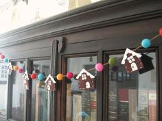 candy house garland by nanaCompany, via Flickr