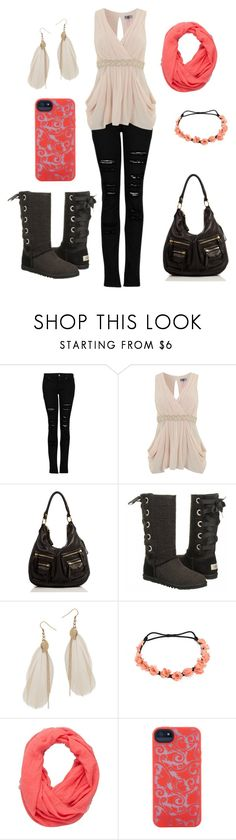 """A night in the City"" by emmajeaneoutfits ❤ liked on Polyvore featuring MANGO, Lipsy, Linea Pelle, UGG Australia, Wet Seal, Kirra and Marc by Marc Jacobs"