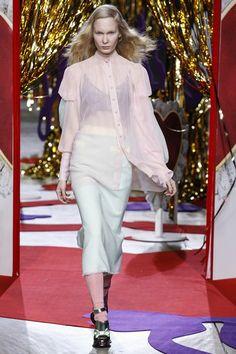 London Fashion Week AW14 Meadham Kirchhoff & Anya Hindmarch - Beauty & Hair - Backstage Badger - Tatler