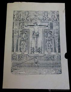 SANTÍSIMO CHRISTO DE LA REJA AÑO 1725 SIGLO XVIII - Foto 1