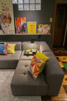 Sofás de canto para a decoração do seu lar