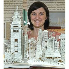 sue blackwell paper artist | British artist Su Blackwell creates beautifully intricate paper models ...