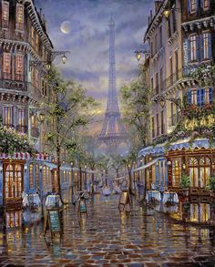 """Summer in Paris"" Gallery - Robert Finale 