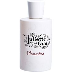JULIETTE HAS A GUN Romantina eau de parfum ($110) ❤ liked on Polyvore featuring beauty products, fragrance, eau de perfume, flower perfume, edp perfume, vetiver fragrance and juliette has a gun