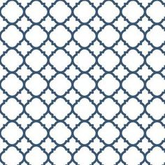 Liberty 18 in. Navy Quatrefoil Adhesive Shelf Liner DLN006-NVY-C at The Home Depot - Mobile