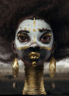 Afro Princess, Andre Holzmeister on ArtStation at https://www.artstation.com/artwork/wQE3Y