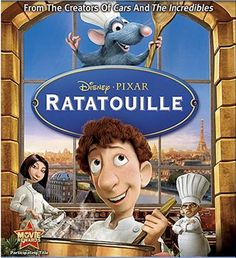 Love this movie! Make the dish and pair with Red House Red! - Ratatouille