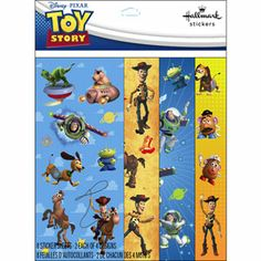 Small Sticker Bags Toy Story Sm