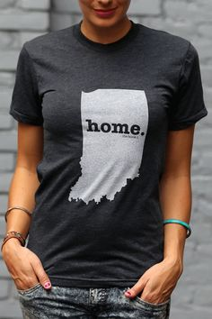 Everyone needs one. The Home. T - Indiana Home T, $28.00 (http://www.thehomet.com/indiana-home-t-shirt/)