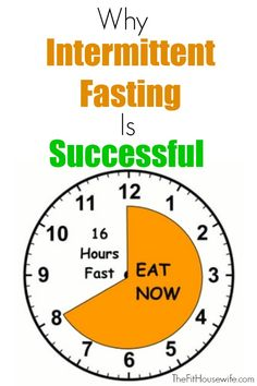 Why Intermittent Fasting Is So Successful