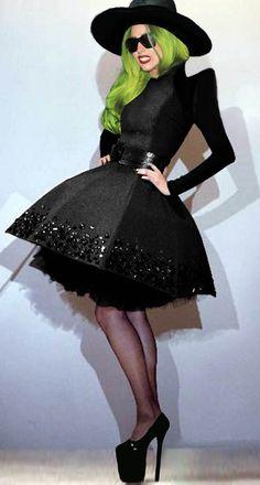 Lady Gaga - I actually really like this umbrella dress