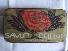 Ancienne boîte à savon en carton L.T PIVER art déco French Vintage, Deco, Art Deco, Decor, Deko, Decorating, Decoration, Dekoration