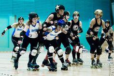 Copenhagen Roller Derby – Rollin Heartbreakers vs. Lincolnshire Bombers Roller Girls, June  2013 #rollerderby © 2013 Peter Troest. All rights reserved.