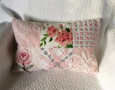Wilendur Pink Royal Roses and Vintage Chenille by SURELYCHENILLE