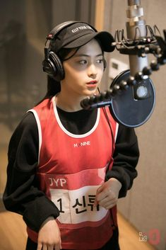 Shin Rhujin | Shin Ryujin | Recording for Really Really | cr. Mixnine Official Facebook #신류진 #믹스나인 #JYP