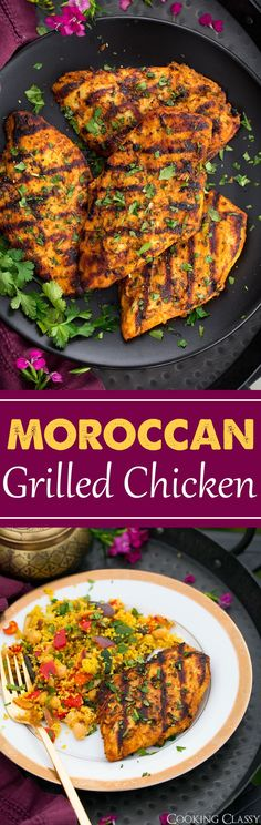Grilled Moroccan Chicken - Cooking Classy