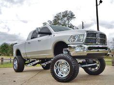 2011 Dodge Ram 2500 4X4 Diesel Lifted Truck