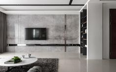 Elegant, Contemporary, and Creative TV Wall Design Ideas - These days TVs a. - Elegant, Contemporary, and Creative TV Wall Design Ideas – These days TVs are often found on - Beautiful Living Rooms, Living Room Modern, Tv Wand Design, Luxury Home Accessories, Home Theather, Tv Feature Wall, Bedroom Tv Wall, Modern Tv Wall Units, Living Room Tv Unit Designs
