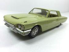 1964 Ford Thunderbird Hard Top Green Promotional Dealer Model Toy Car