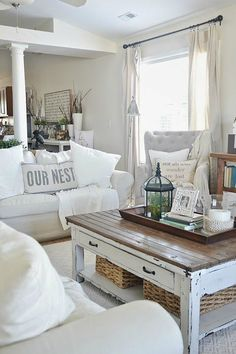 The Key to Comfortable Cottage Style Decorating !