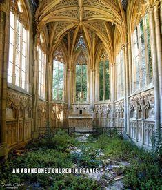 Una Iglesia Abandonada en Francia
