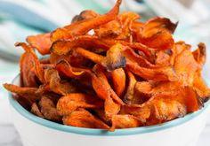 Recette facile de chips santé aux carottes!