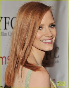 Strawberry Blonde - Jessica Chastain