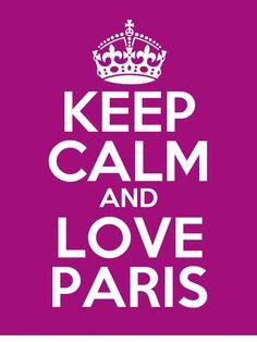 Keep calm and PARIS