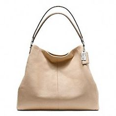 The Coach Madison Leather Phoebe Shoulder Bag