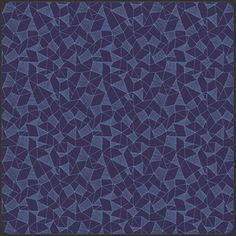 Sarah Watson - Luxe in Bloom - Crystalline in Cobalt