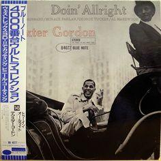 DEXTER GORDON / DOIN' ALLRIGHT / BLUE NOTE / TOSHIBA JAPAN OBI